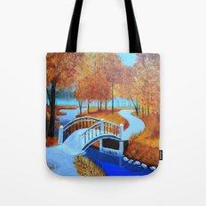 Autumn landscape 5 Tote Bag