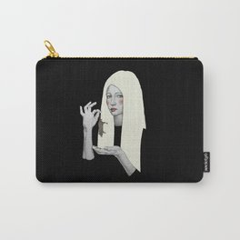 Vana in black Carry-All Pouch