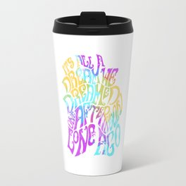 Box Of Rain (Colour) Travel Mug