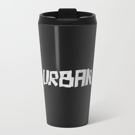 Urban Marker Metal Travel Mug