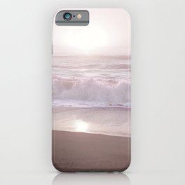 SUNSET HALFMOON BAY by MS iPhone Case