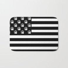 US Minifigure Flag - Horizontal Bath Mat