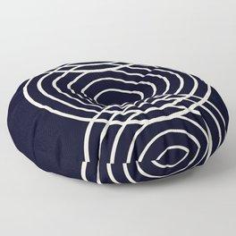 Life Balance Black Floor Pillow