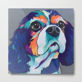 Millie the Cavalier King Charles Metal Print