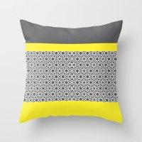 arabic Throw Pillows featuring Arabic by ShivaR