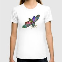goth T-shirts featuring Goth Moth by Jan4insight