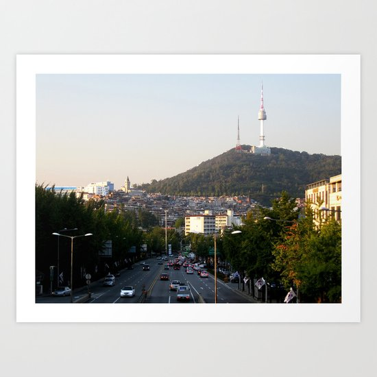 Itaewon Freedom Art Print