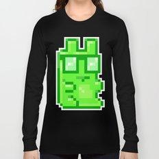 Giant Pixel Gummy Bear Long Sleeve T-shirt