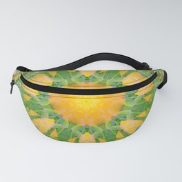 Poppy Flower Mandala (201903) Fanny Pack