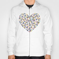 Faceted Heart Hoody
