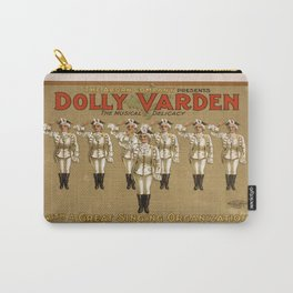 Vintage poster - Dolly Varden Carry-All Pouch
