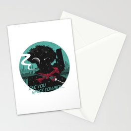 cowboy bebop logo Stationery Cards