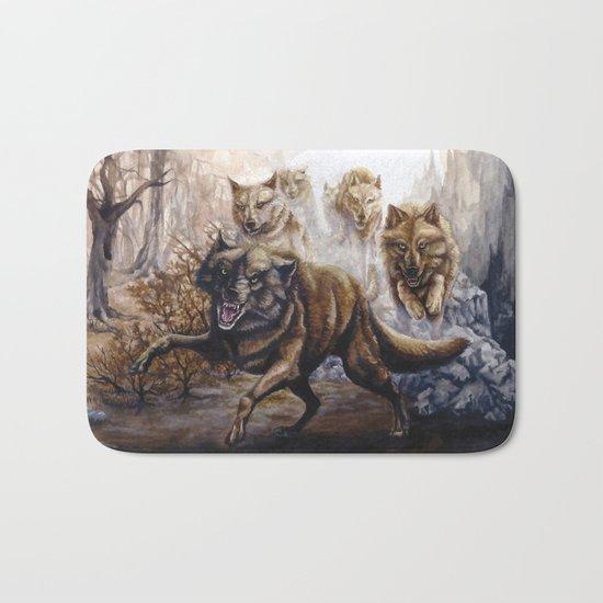 Pack of Wolves Bath Mat