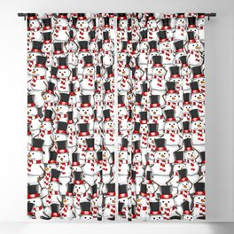 No Business Like Snow Business Blackout Curtain