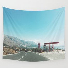 Gas Station Wall Tapestry
