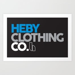 Heby Clothing Co Coco Art Print