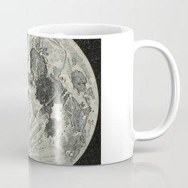 Vintage Moon Map Coffee Mug