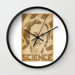 Richard Feynman Retro Science Wall Clock