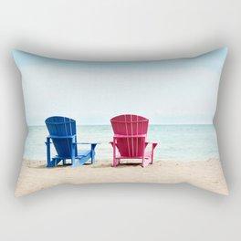 AFE Beach Chairs Rectangular Pillow