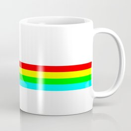 Robo Rainbow Coffee Mug
