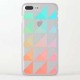 Gradient Clear iPhone Case