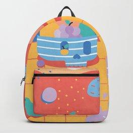 Skull Fruit Bowl Backpack