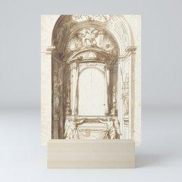Antonio Gherardi - Design for an Altar (1680) Mini Art Print
