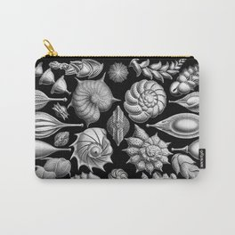 Sea Shells (Thalamophora) by Ernst Haeckel Carry-All Pouch