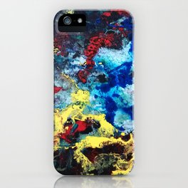 The Storm - an abstract impression iPhone Case