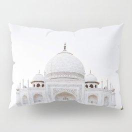taj mahal in agra Pillow Sham