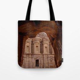 The Treasury at Petra Jordan Tote Bag