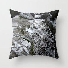 Villa Lante Water Chain Throw Pillow