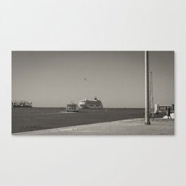 Tage, Lisbon Canvas Print
