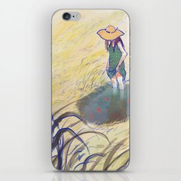 Once upon a Pond iPhone Skin