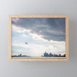 Detroit State of Mind Framed Mini Art Print