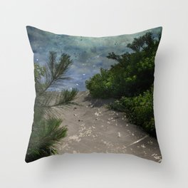 Rising Obscurity Throw Pillow