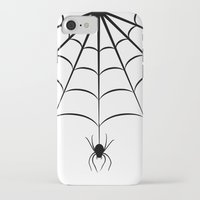 spider iPhone & iPod Cases featuring Spider by haroulita