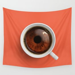 Coffee Eye Wall Tapestry