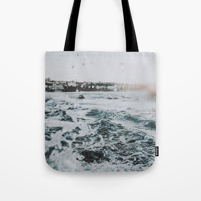 Summer Waves Ii Bondi Beach Australia Tote Bag