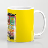 truck Mugs featuring TRUCK ART by urvi
