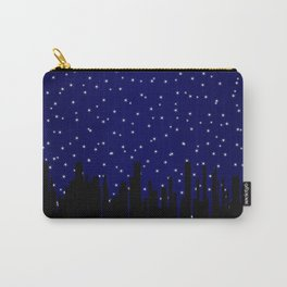 Stary Night Cityscape Carry-All Pouch