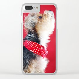 Super Pets Series 1 - Moose Howl Clear iPhone Case