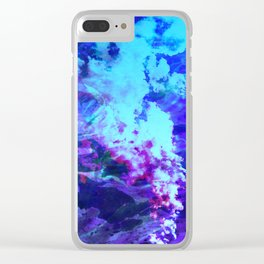 Misty Eyes of Tranquility Clear iPhone Case
