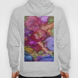 L and L Flower Explosion Hoody