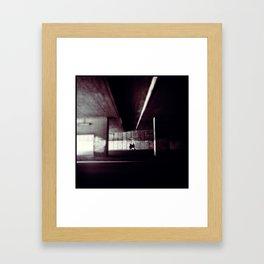 Ensammheten Framed Art Print