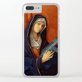 It is possible to be a woman in many ways. Clear iPhone Case