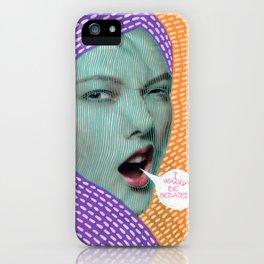 I Wanna Be Sedated iPhone Case