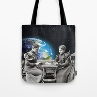 card Tote Bags featuring Card Game by Cs025