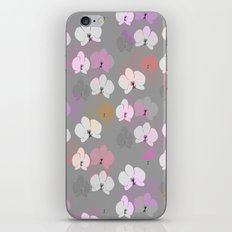 Grey Orchids iPhone & iPod Skin