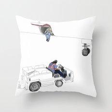 flight 1726 Throw Pillow